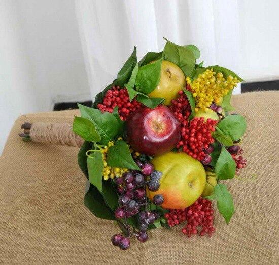 Букет с фруктами своими руками фото